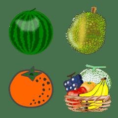 会話で使おう!かわいい果物の絵文字