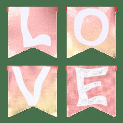 愛の旗(A-Z)絵文字