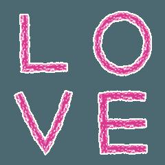 クレヨン vivid pink