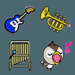 音楽と歌と楽器の絵文字