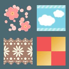 tsugitsugi -春夏秋冬- (つながる絵文字)