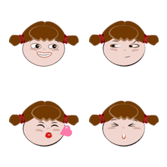 DuDu's face stickers