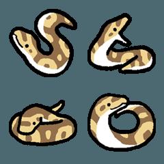 かわいいニシキヘビの絵文字