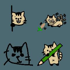 猫のぺーちゃん2 絵文字