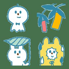 青いウサギと梅雨~七夕
