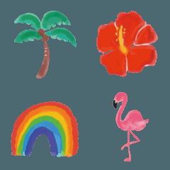 西海岸風個性的な絵文字