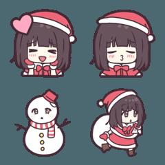 メンヘラちゃん。のクリスマス絵文字。
