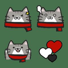 ぽちゃ猫サポーター絵文字