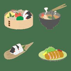 いろんな日本食【絵文字】