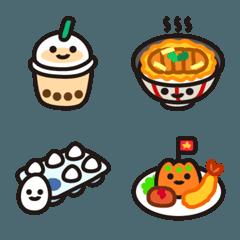食べ物絵文字【定番メニュー】