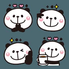 大人かわいい♡パンダの絵文字