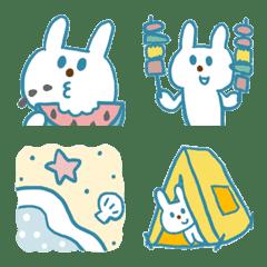 青いウサギと夏休み