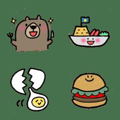 食いしん坊くま太さんの腹ぺこ絵文字