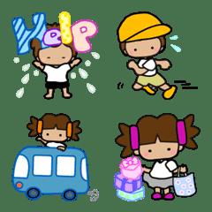 毎日使えるカラフル絵文字☆YOKORENA☆