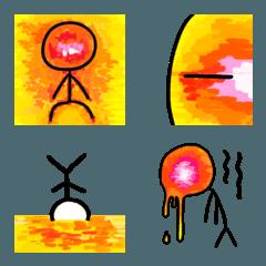 灼熱の棒人間
