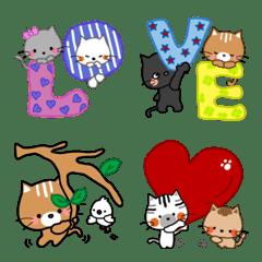 LOVE・なかよしこねこ☆にゃん love 5☆+1