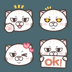 Tsundere Cat NOSAN Emoji.