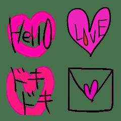 手描き絵文字