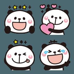 大人かわいい♡パンダの絵文字2