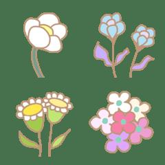 ボタニカルflower 絵文字