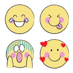 スマイリーニコちゃんの使いやすい顔絵文字