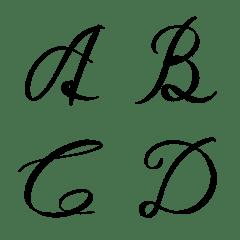 English Font no.01