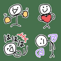 シュールな棒人間絵文字(4)