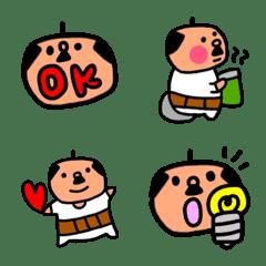 ふんわり系おじさん 絵文字1