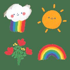 Cutie Rainbow Emoji