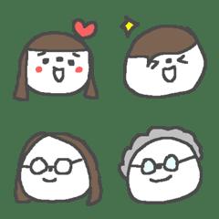 家族と友達と眼鏡と絵文字♪♪