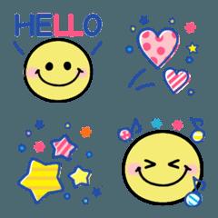YELLOW SMILY FACE