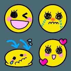 表情豊かな絵文字5 可愛いお顔バージョン