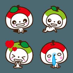 りんごちゃんと青りんごちゃん