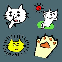 POCAママの絵文字 【ふざけたネコ編】