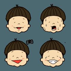 acorn hair boy