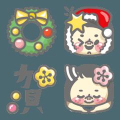 小福さん 冬とXmasと正月編