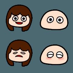 不眠症の女の子と寝不足ちゃん