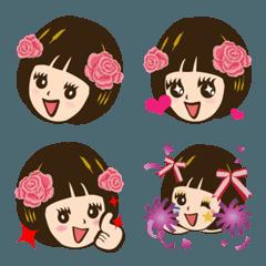 Super Beauty QQ うずくまる悪魔と emoji