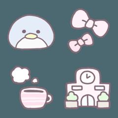 茶ふち絵文字 ❤ 3