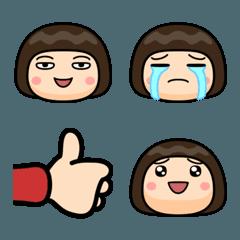 みんなの芋ジャージ女子【絵文字編】