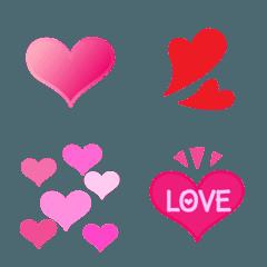 シンプル&カワイイ♡ピンクハートセット♡
