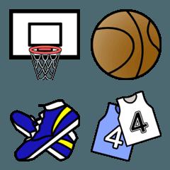 バスケットボールの絵文字