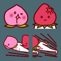 モモさんとイチゴさん