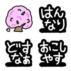 絵文字◎京都弁/京ことば/方言/デコ文字