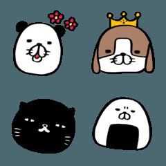 パンダと犬とネコチャンズのEMOJI