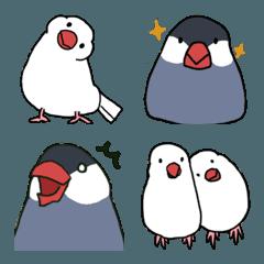 文鳥たちの絵文字