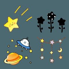 星と宇宙☆絵文字