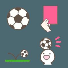 サッカーの絵文字