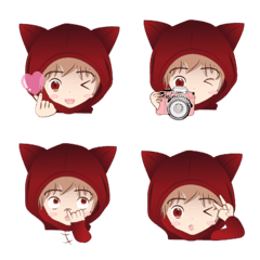 Mimi in the red hood emoji