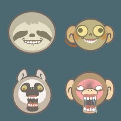 猿ときどき歯ぐき